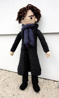 Sherlock Holmes by leftandrightdolls