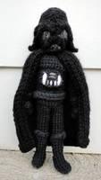 Darth Vader by leftandrightdolls