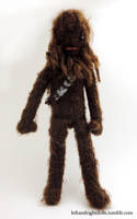 Chewbacca by leftandrightdolls