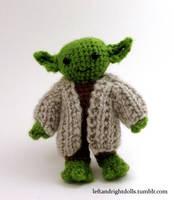 Yoda by leftandrightdolls