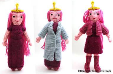 Adventure Time: Princess Bubblegum by leftandrightdolls