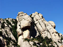 Montserrat's rocks by Ewilyn