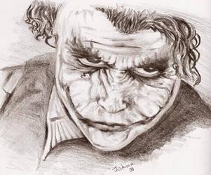 Heath Ledger Joker 2 by RayneofVengeance