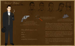 Sherlock Holmes by Silvre
