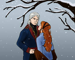 Winter Kiss by Silvre