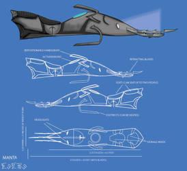Manta Blueprints by Silvre