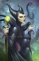 Maleficent by jpzilla