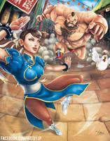 Capcom Fighting Tribute 2015 - JP PEREZ by jpzilla