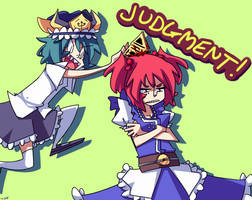 JUDGMENT! by J5-daigada