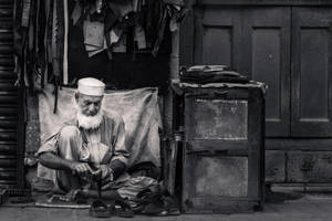 The Street Cobbler by ZaGHaMi