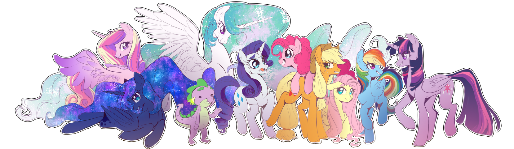 Ponies sticker by Kag-Bag on DeviantArt 2a28bfe7e
