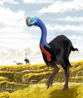Gigantoraptor erlianensis by TopGon