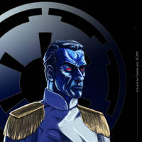 Grand Admiral Thrawn by TopGon
