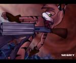 x:Shadey was killed a robot:x by Shide-Dy