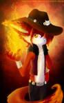 .:Fire Cat:. by Shide-Dy