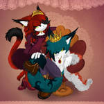 .:KING_Mom and Dad:. by Shide-Dy