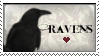 Ravens Stamp by sequelle