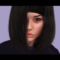 Portrait Commission by MgcUsr