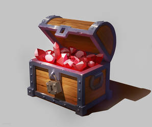 Treasure Chest by MgcUsr