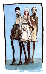 fashion illustration by dannie-san