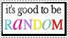 Random by serendestipity