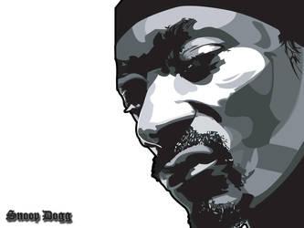 Snoop Dogg Wallpaper - White by bem69