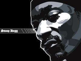 Snoop Dogg Wallpaper - Black by bem69