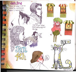 Jan 3rd Sketchpage by blouse