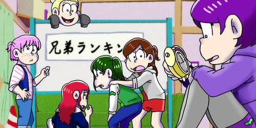 Osomatsu san redraw by purple10183