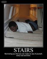 Stairs -demotivation- by Dragunov-EX