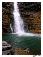 Beautiful waterfall by x-miss-drawings-x