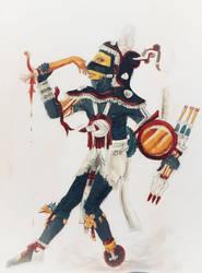 Dios Tezcatlipoca by Pachacutecyupanqui by Pachacutecyupanqui