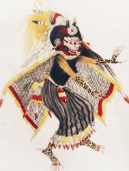 Goddess Itzpapalotl by Pachacutecyupanqui by Pachacutecyupanqui