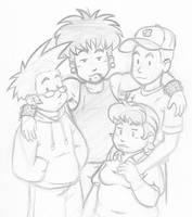 Just a sketch by Marvelousboy