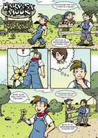 Harvest Moon Page 1 by Marvelousboy