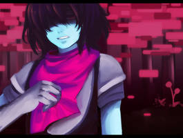 Kris ~ DeltaRune by Cryptic-Mystic