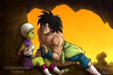 Cheelai and Broly (Tarzan Parody) by Teira-Nova
