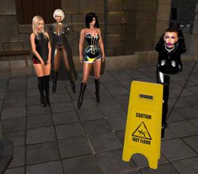 Mistress Jenny, Diomita, Angelique and slaves (9) by DiomitaMaurer
