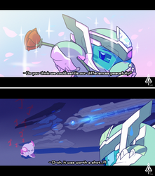 maybe we can put our differences behind us by AssassinKnight-47