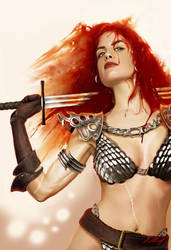 Red Sonja 2014 by axlsalles