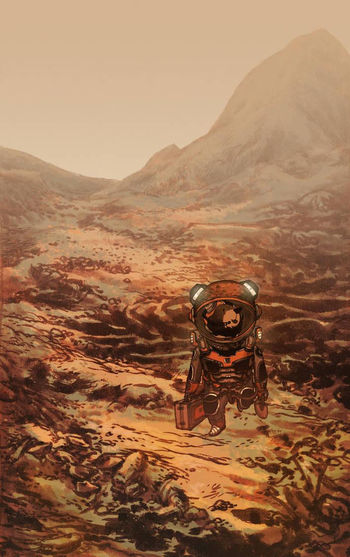 Marswalk EVA by ftongl