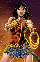 Warrior Wonder Woman by BrianAtkins