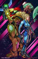 Metroid: Samus  by BrianAtkins