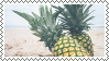 pineapple stamp by bulletblend