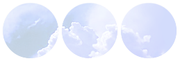 cloud divider {blue version} by bulletblend