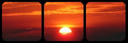 sunset divider by bulletblend