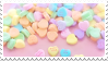 love hearts stamp by bulletblend
