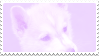 pastel husky pup stamp by bulletblend