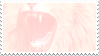 pastel lion stamp by bulletblend