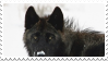 black wolf stamp 2 by bulletblend